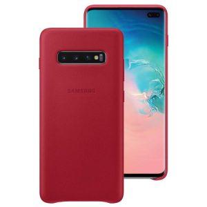 Ốp lưng Samsung Leather cover Galaxy S10 Plus chính hãng