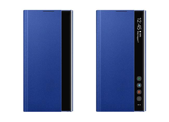 Bao da Clear view Note 10 chính hãng Samsung