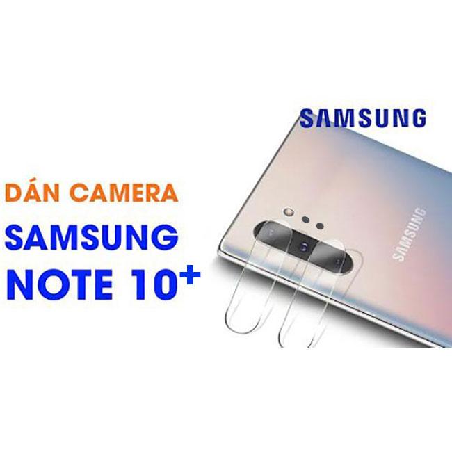 Dán kính cường lực camera Note 10 Plus Totu chống trầy