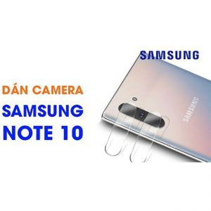 Dán kính cường lực camera Note 10 hiệu Totu trong suốt
