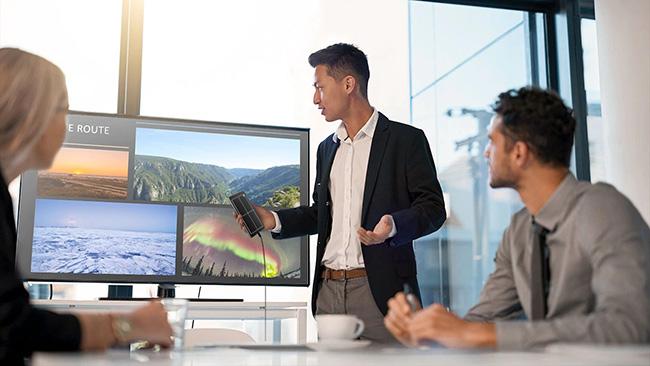 Dây cáp DeX HDMI có thể biến Galaxy Note 10 thành máy tính PC