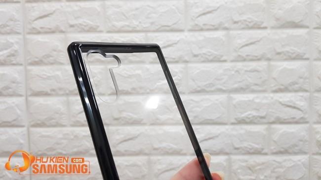 Ốp lưng Spigen Note 10 Ultra Hybrid S có chân chống