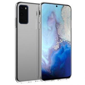 Ốp lưng Galaxy S20 Silicon dẻo trong suốt theo máy chính hãng Samsung giá rẻ