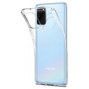 Ốp lưng Galaxy S20 Plus Spigen Liquid Crystal trong suốt đẹp chính hãng chống sốc giá rẻ