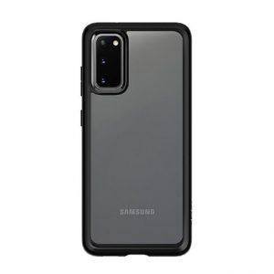 Ốp lưng Galaxy S20 đẹp Likgus viền màu trong suốt chống sốc giá rẻ