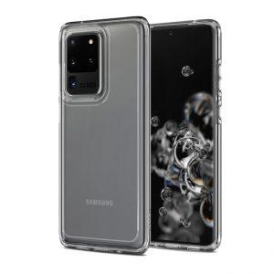 Ốp lưng Spigen Galaxy S20 Ultra Crystal Hybrid trong suốt chính hãng đẹp giá rẻ hà nội tphcm