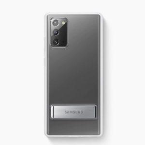 Ốp lưng Galaxy Note 20 Clear Standing có thanh chống chính hãng Samsung