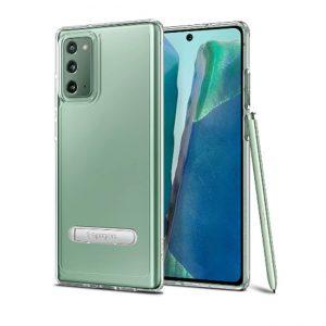 Ốp lưng Galaxy Note 20 Spigen Ultra Hybrid S chống sốc có thanh chống đẹp